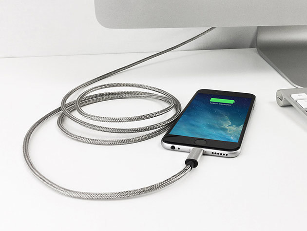 Armour Charge Steel Charging Cable