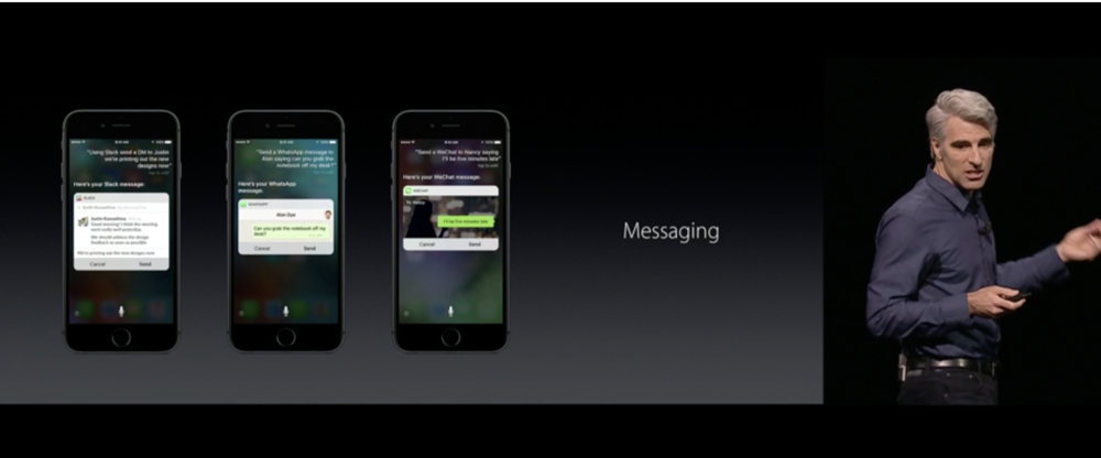 Siri gains more messaging power and much more context