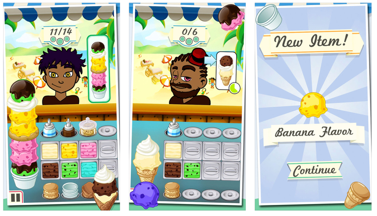 This is national ice cream month celebrate accordingly apple ice cream by bluebeard free but with in app purchases teaches you how to make your own frozen desserts you can make and choose from three totally ccuart Image collections