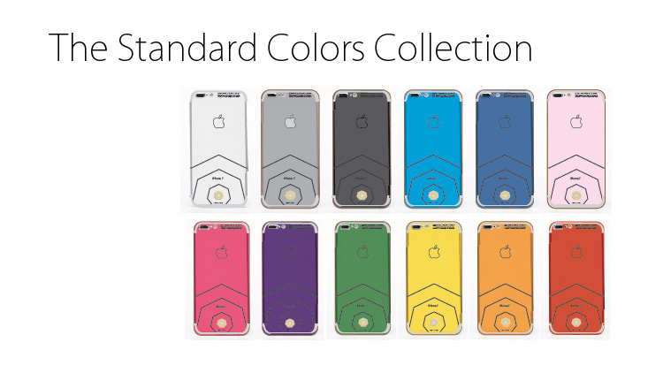 Here Is The Companys Description Of Its Lux IPhone 7 Line Up Standard Collection Includes 10 Different Color Options With Multiple Diamond Logo