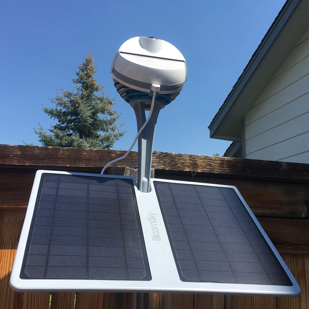 Weather made simple with the iPhone-compatible BloomSky SKY1