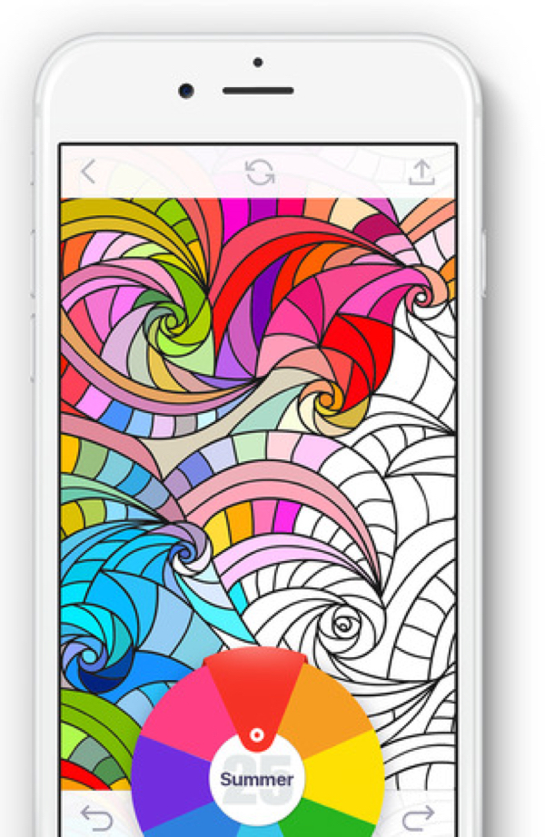 Coloring Book For Me Offers A Variety Of Specially Designed Images Like Mandalas Flowers And Animals That Can Be Colored With Your Fingers Or An Apple