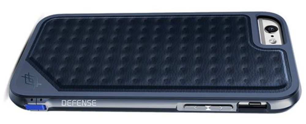 X-Doria Defense Lux case in Blue Impression finish