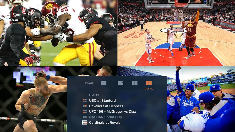 Fox Sports GO app for Apple TV