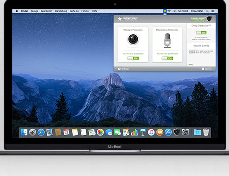 Camera Guard for Mac OS X blocks webcam and microphone access