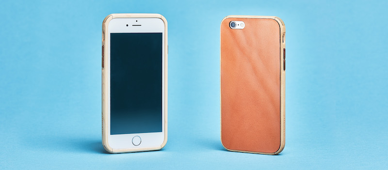 Grove made Leather & Wood Case for iPhone 7