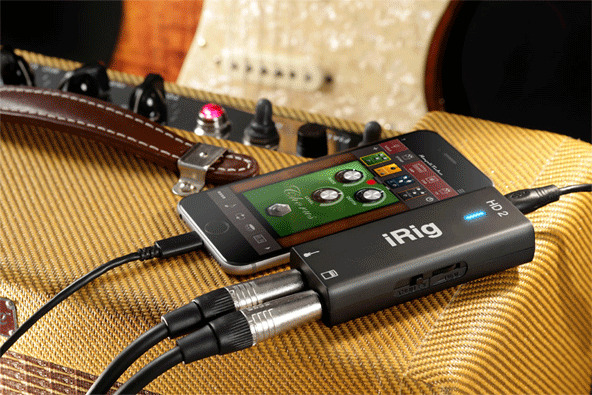 IK Multimedia's new Lightning-based iRig HD 2