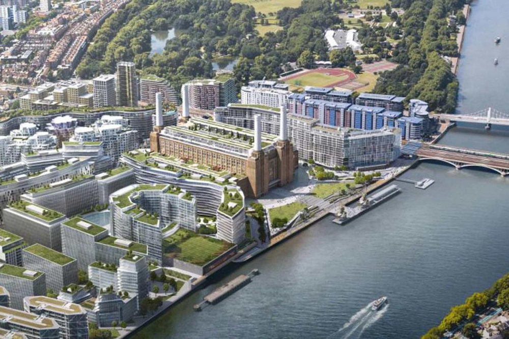 Pictured is the Battersea development, courtesy of 'The Evening Standard.'