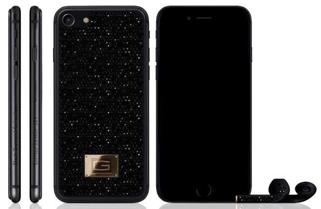 Gresso Lux iPhone 7 Black Diamond Collection