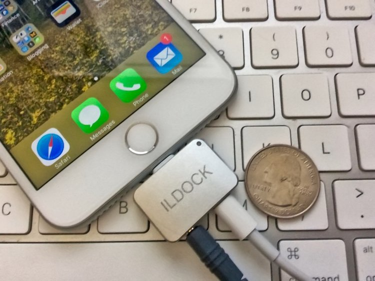 check out 7d4a1 7ebbc ILDOCK gives your iPhone 7 a headphone jack and a way to charge it ...