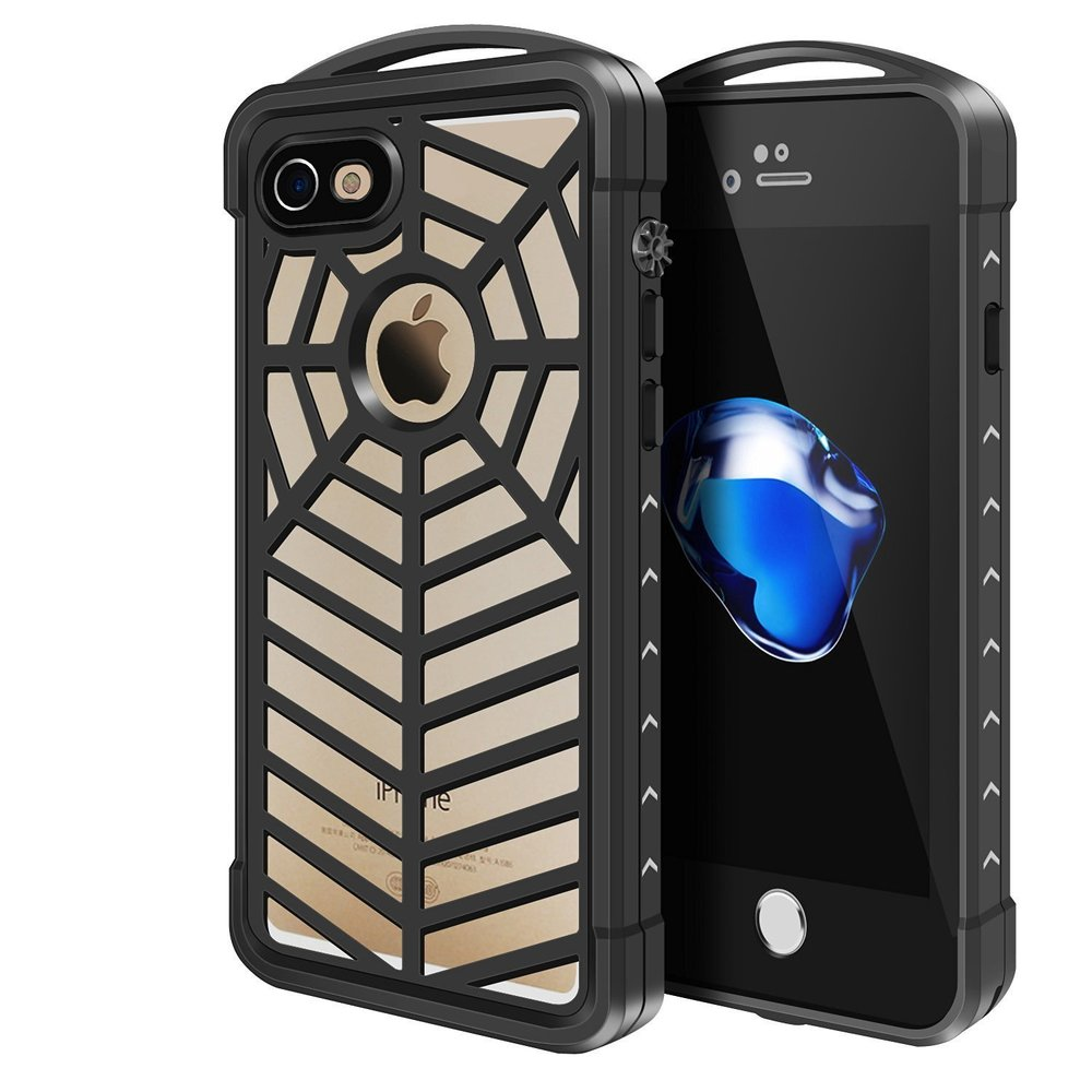 Spidercase for iPhone 7, clear.