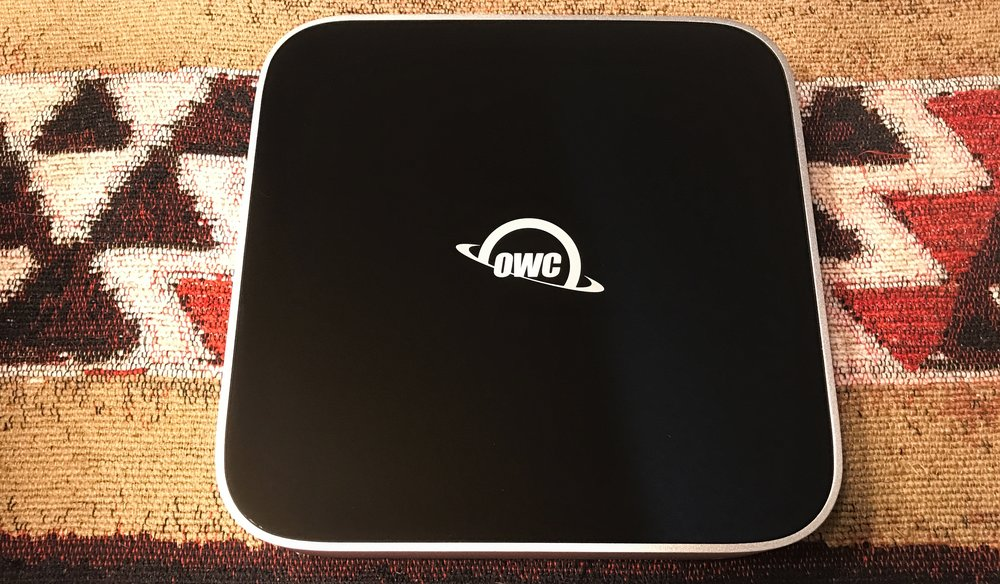 OWC miniStack External Hard Drive. Photo ©2016 Steven Sande