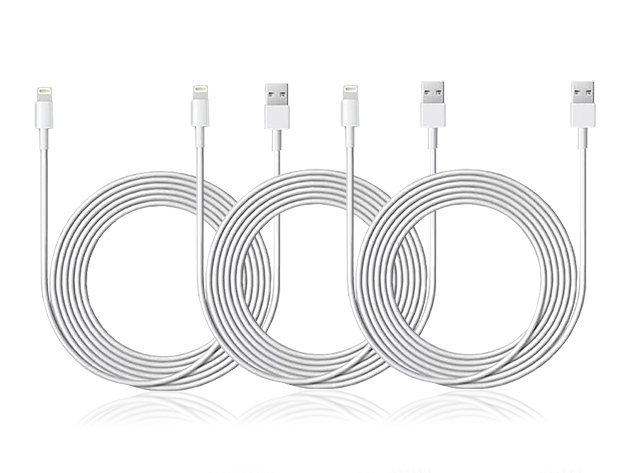 Cables! We've got 'em, and they're only $21.99 for three!