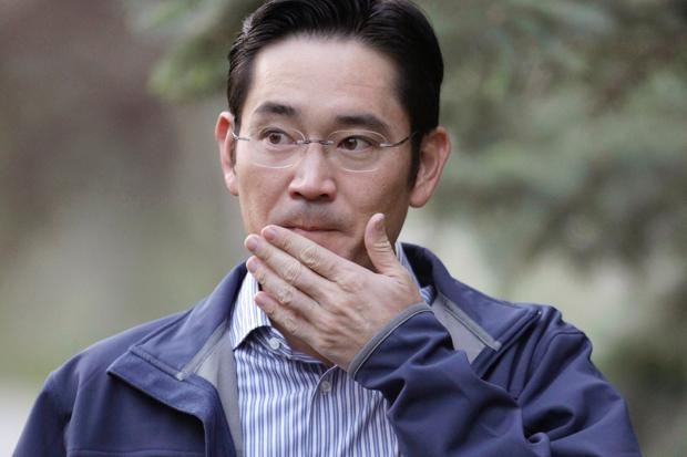 Samsung heir Lee Jae-Yong.