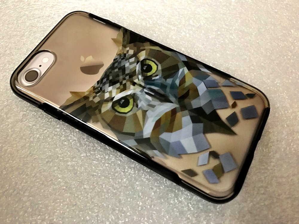 X-Doria Revel iPhone 7 Case (Owl). Photo ©2017, Steven Sande