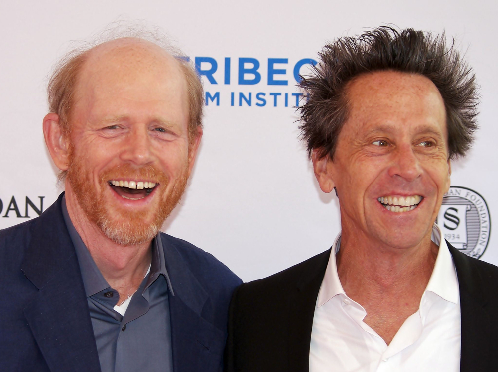 Pictured are Ron Howard and Brian Grazer, co-founders of Imagine Entertainment
