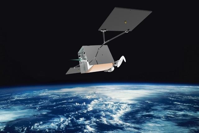 OneWeb satellite concept. Via  OneWeb ,
