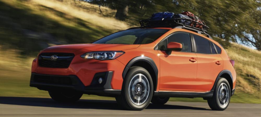 2018 Subaru CrossTrek (CarPlay not shown...)