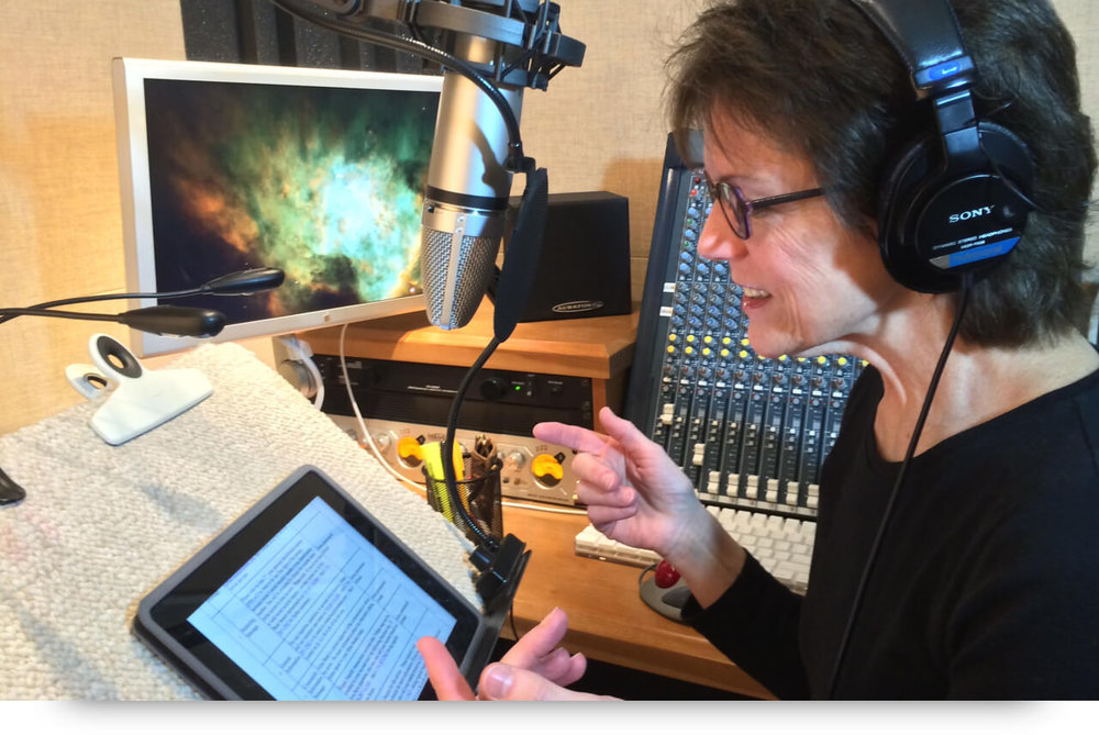 Susan Bennett, the voice of Siri. Photo via Typeform