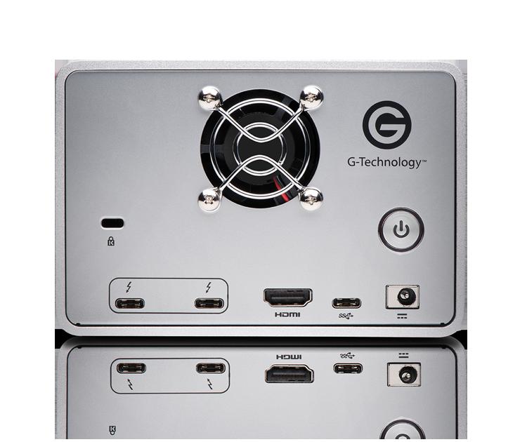 G-RAID with Thunderbolt 3