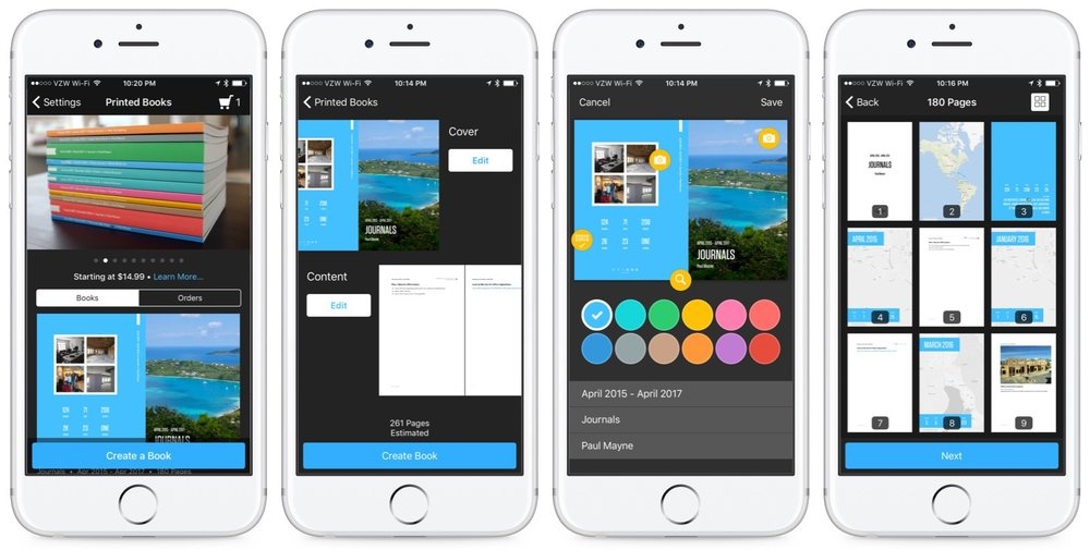 Day One journal app adds printed books \u2014 Apple World Today