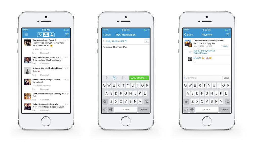 Venmo's iOS app