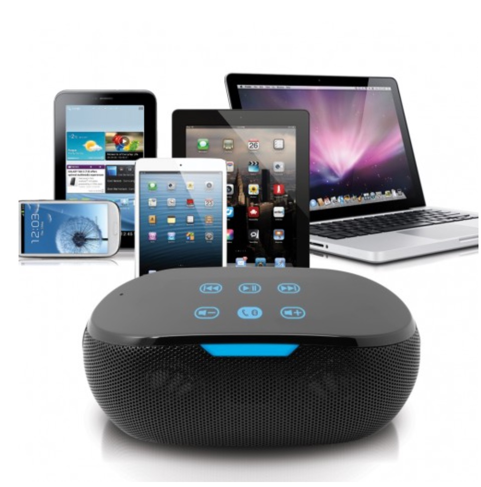 photo image Satechi BT Touch Speaker: portable, looks great, sounds good