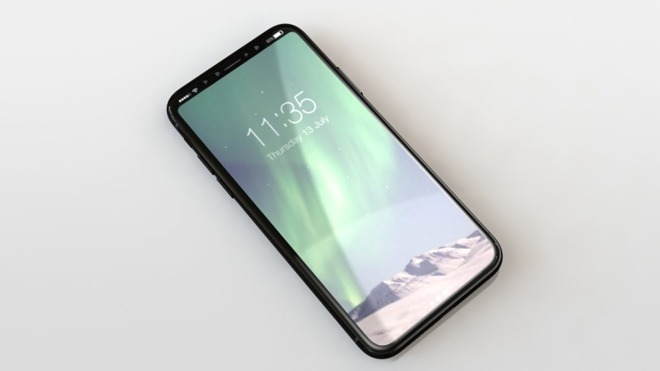 """iPhone 8"" mockup by casemaker Nodus,  via   Forbes ."