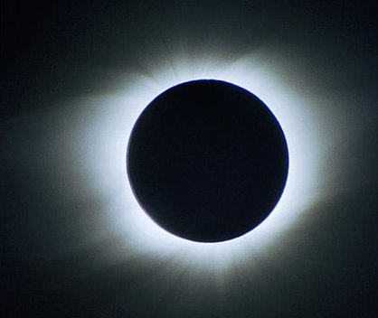 1998 Total Solar Eclipse as seen from Aruba