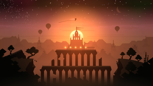 "An image from the upcoming ""Alto's Odyssey"""