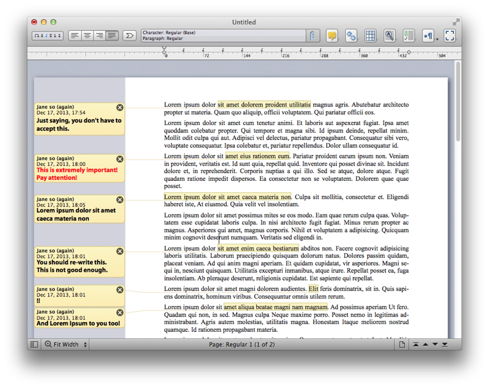 photo image Mellel word processor for macOS boasts over 200 new, improved features