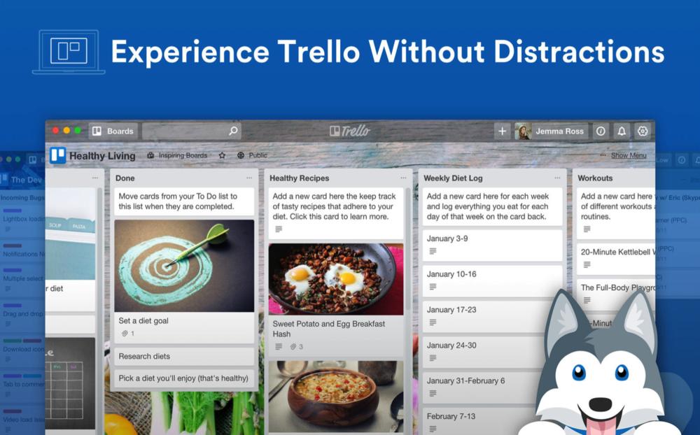 photo image Trello gets a native Mac app
