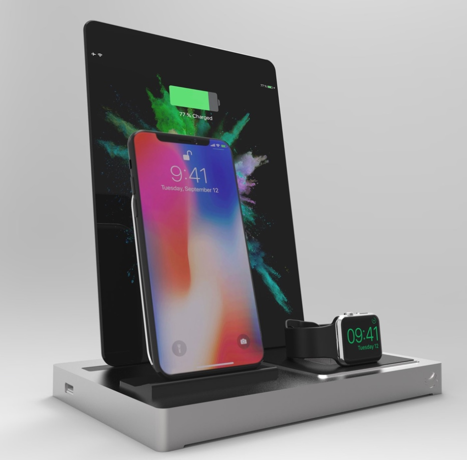 best website a9f68 fb5c7 The EVOLUS 3 is a multi-docking station with Qi charging for the ...
