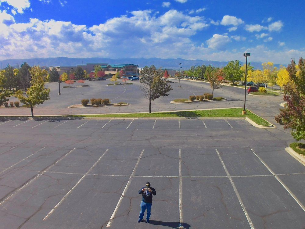 A sample photo from the SimToo Moment Drone.