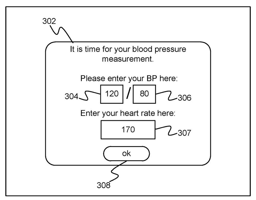 photo image Apple granted patent for 'intelligent blood pressure monitoring'