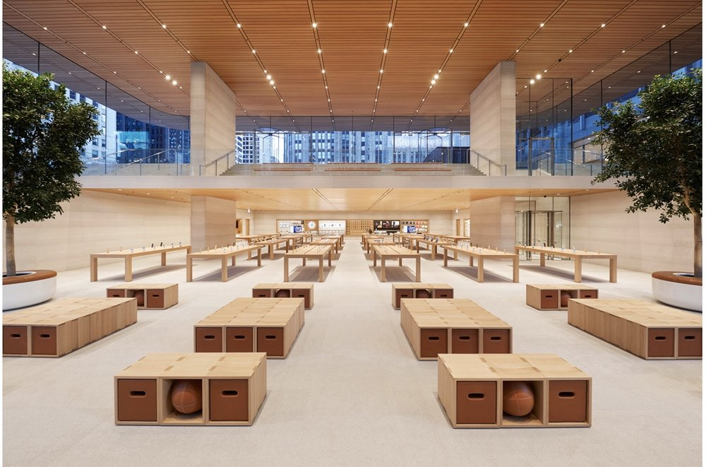 """Apple Michigan Avenue opens Friday, and will launch """"The Chicago Series,"""" a set of programs that focus on making a positive impact in the community, next week. -- Photo courtesy of Apple"""