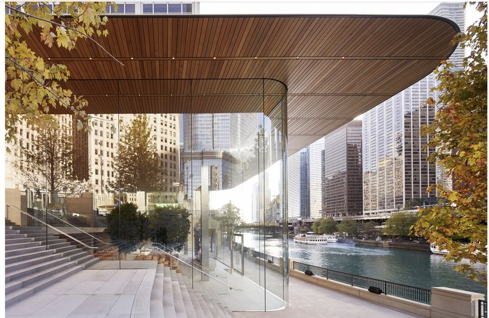 Apple Michigan Avenue opens Friday, October 20 at 5 p.m. -- Photo courtesy of Apple