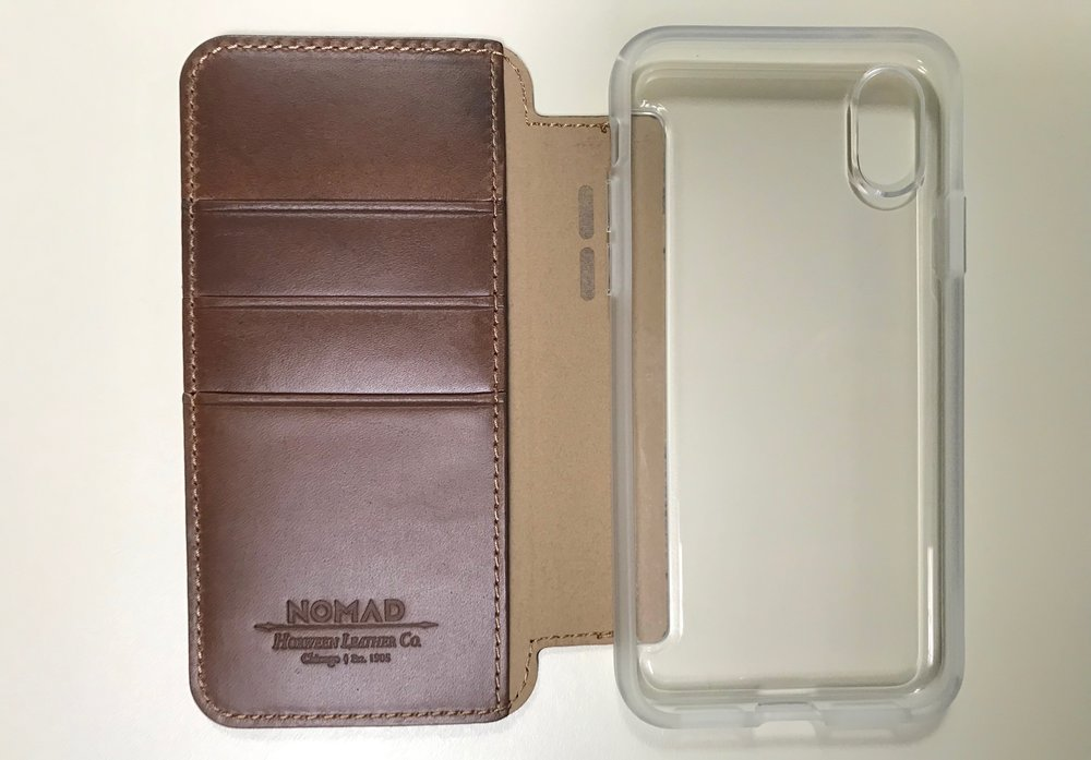 Nomad Clear Folio for iPhone X