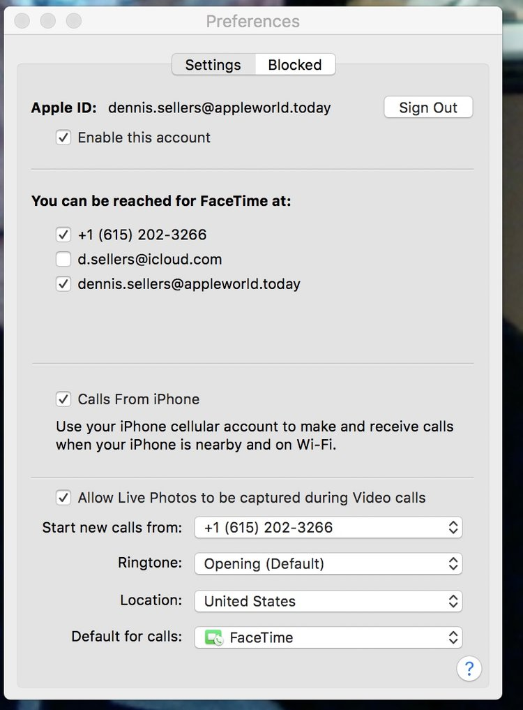 How To Take Live Photos During A FaceTime Call In MacOS High Sierra