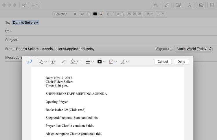 How To Sign A PDF In MacOS High Sierra Apple World Today
