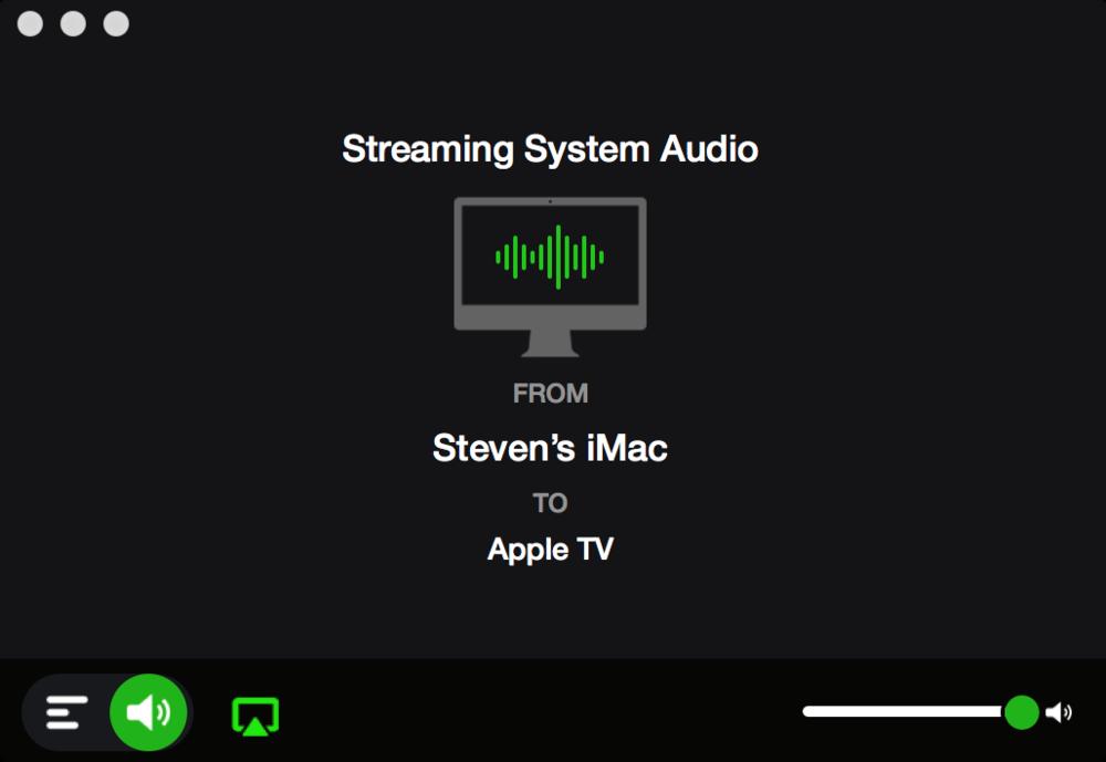 DropStream's Simple Audio Interface