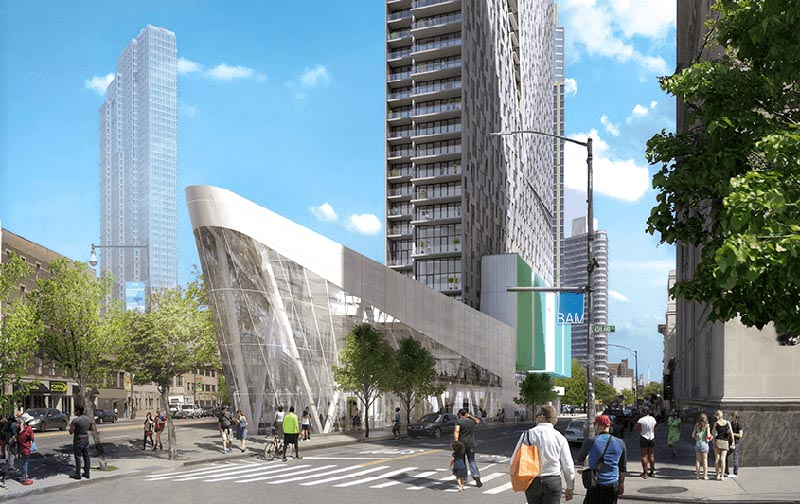 The 300 Ashland building, site of the new Brooklyn (NY) Apple retail store