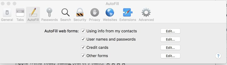 How To Add Or Remove Credit Cards In MacOS High Sierras ICloud