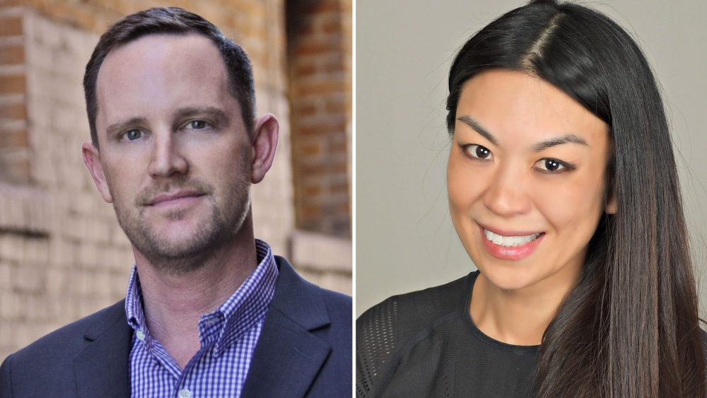 Philip Matthys and Jennifer Wang Grazier