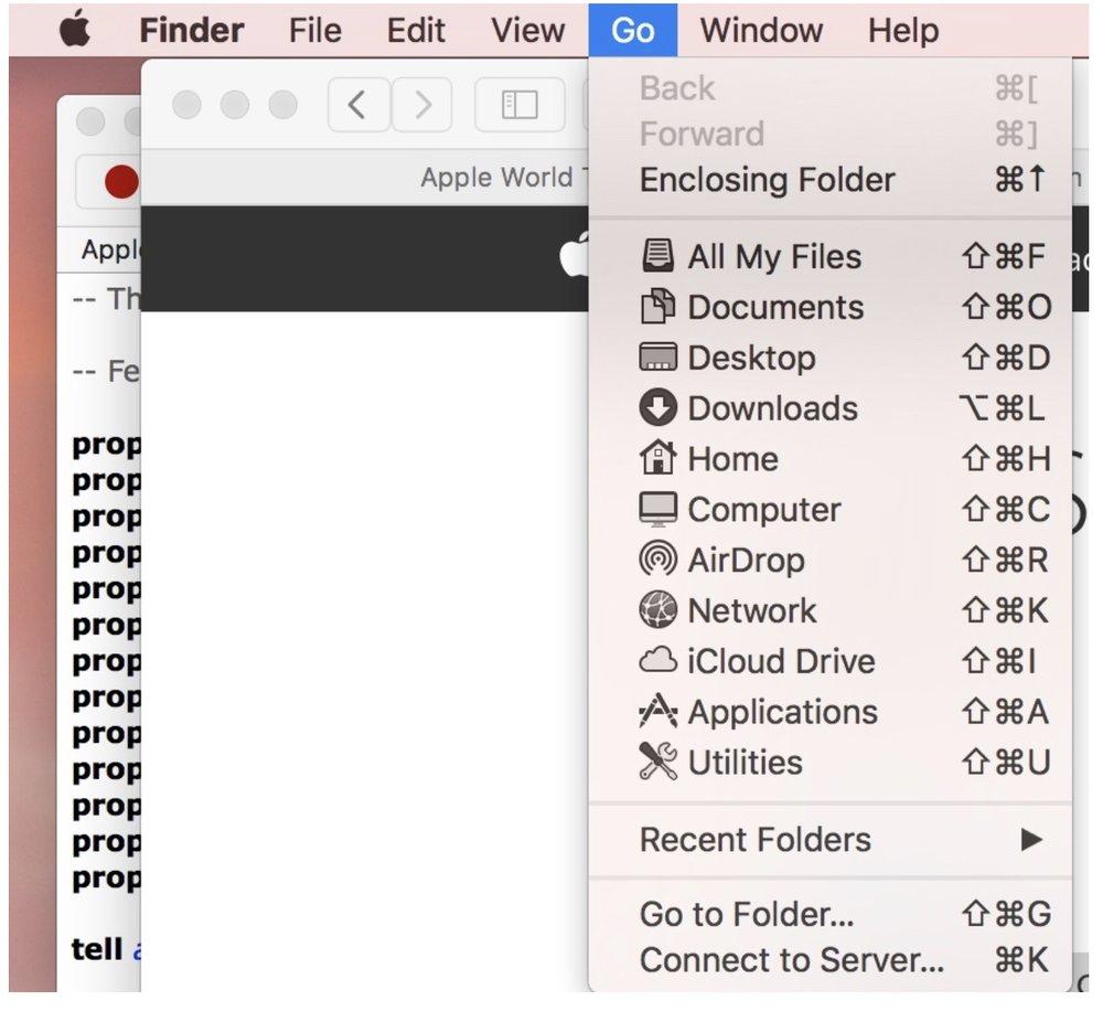 Go to folder .jpeg
