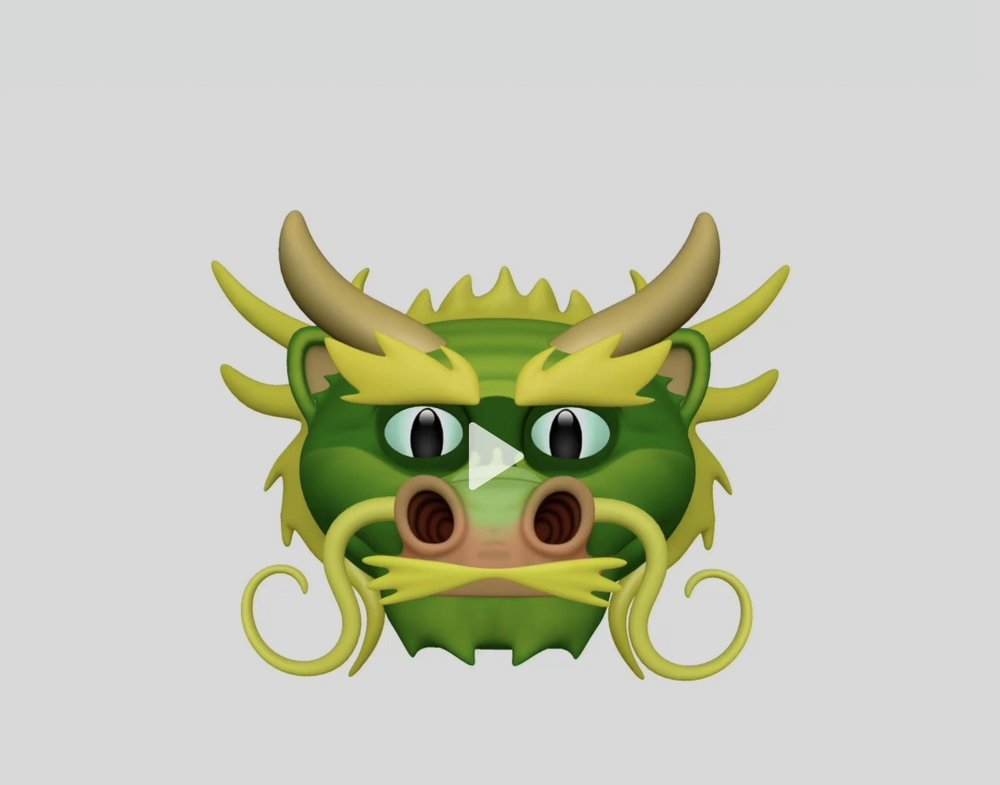 New Animoji in iOS 11.3 include a dragon, bear, skull and lion for a total of 16 different characters.