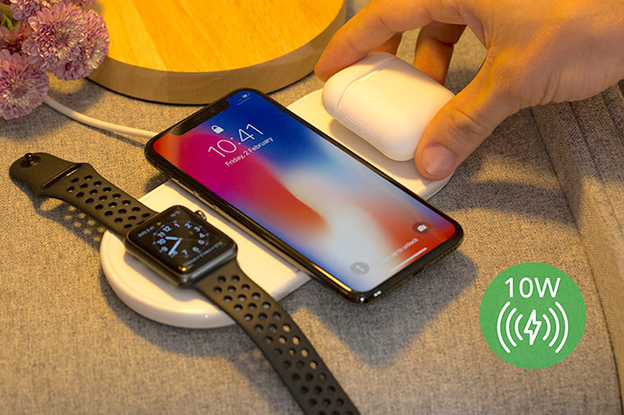 photo image Plux wireless charger aims to beat AirPower at its own game