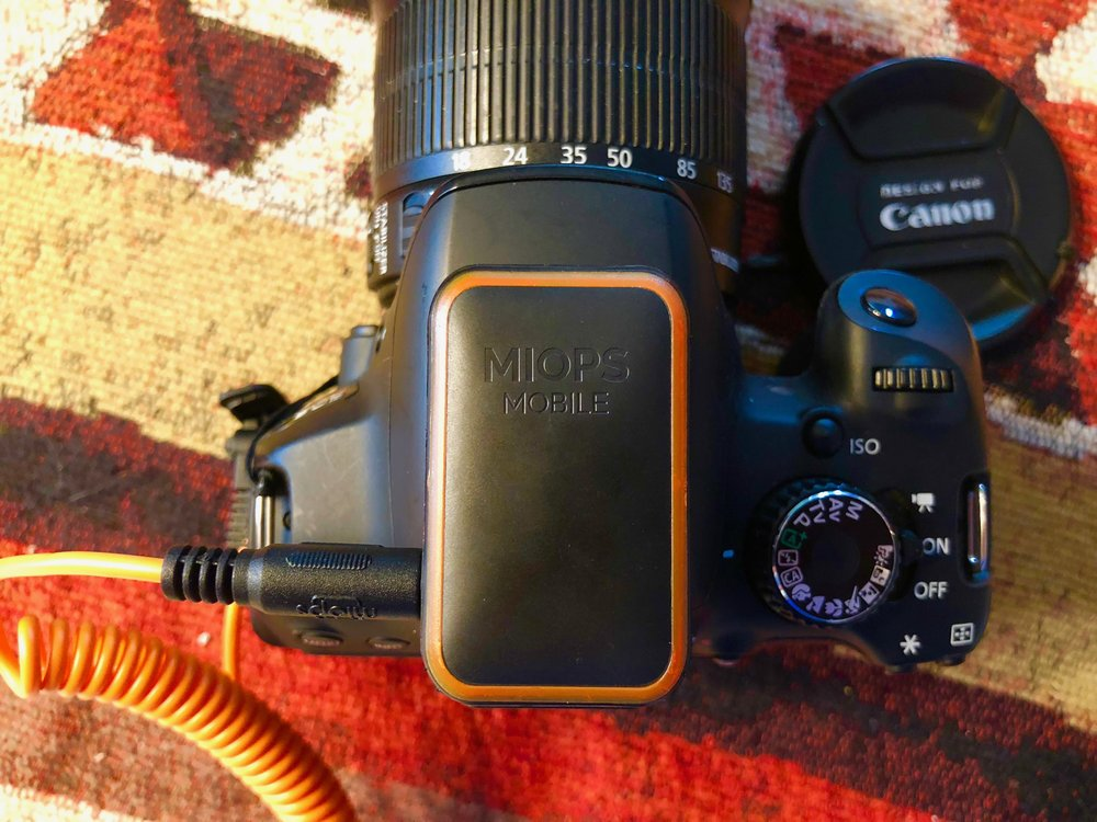 Review: App control of DSLRs with the MIOPS Mobile Remote and Mobile Dongle