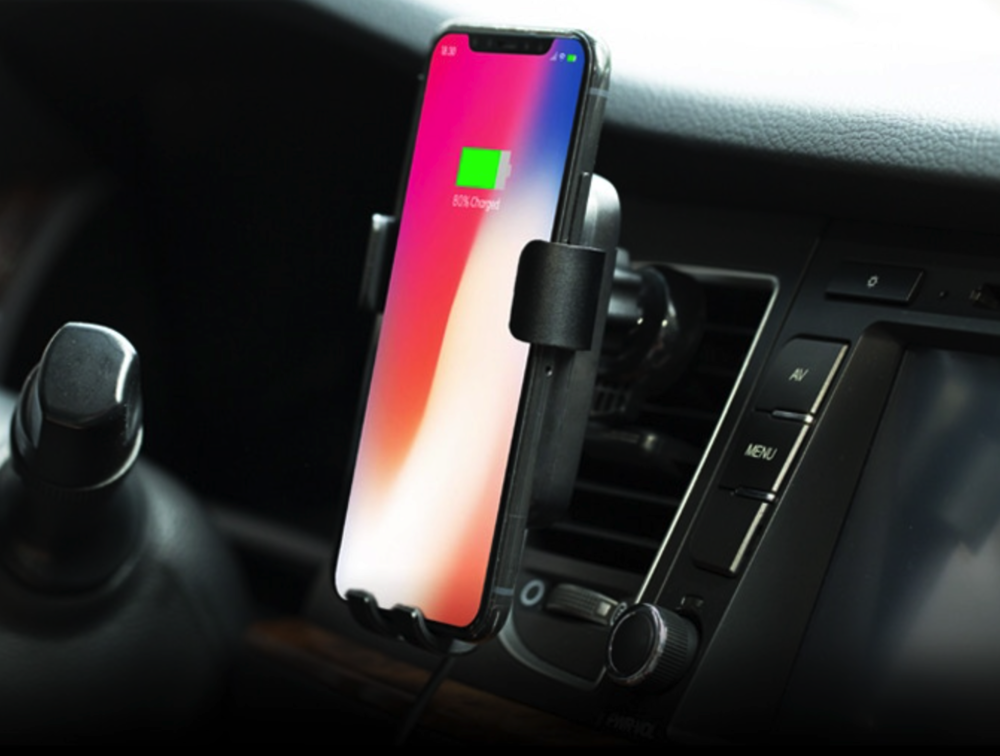 Mofin Qi Wireless Car Phone Charger: Perfect for iPhone X/8/8 Plus