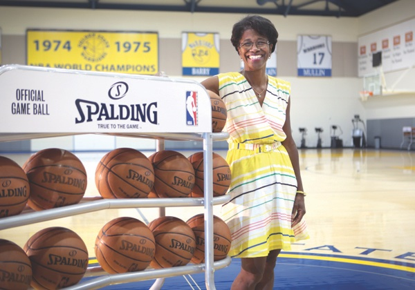 photo image Apple hires Golden State Warriors' Gail Hunter as director of events